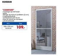 Hordeur comfort-CanDo
