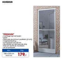Hordeur premium-CanDo