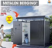 Metalen berging highline-Biohort