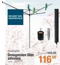 Droogmolen advance-Brabantia