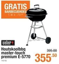 Weber houtskoolbbq master-touch premium e-5770-Weber