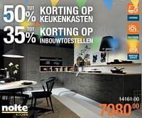 Keukenkasten + inbouwtoestellen-Nolte Küchen