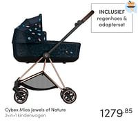 Cybex mios jewels of nature 2-in-1 kinderwagen-Cybex