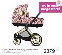 Cybex priam cherub by jeremy scott 2-in-1 kinderwagen-Cybex