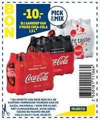Aankoop van 3 packs coca-cola-Coca Cola