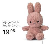 Nijntje teddy knuffel-Nijntje