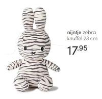 Nijntje zebra knuffel-Nijntje