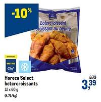 Horeca select botercroissants-Huismerk - Makro