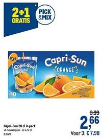 Capri-sun sinaasappel-Capri-Sun
