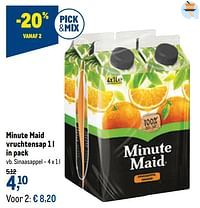Minute maid vruchtensap sinaasappel-Minute Maid