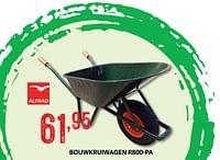 Bouwkruiwagen r800-pa-Altrad