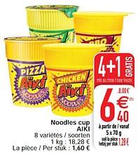 Noodles cup aiki-Aiki