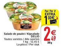 Salade de poulet - kipsalade delio-Delio