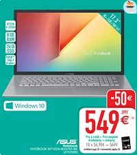 Asus notebook vivobook m712da-bx579t-be-Asus