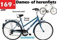 Dames. of herenfiets-Huismerk - Itek