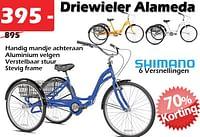 Driewiel alameda-Huismerk - Itek