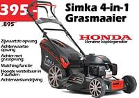 Honda simka 4-in-t grasmaaier-Simka Tuinmachines