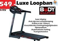 Luxe loopband-Body Sculpture