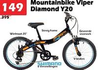 Mountainbike viper diamond y20-Viper Bicycles