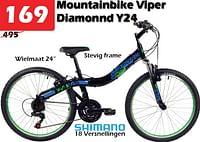 Mountainbike viper diamonnd v24-Viper Bicycles