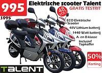 Talent elektrische scooter-Talent