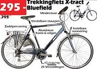Trekkihgfiets x-tra bluefield-X-tract