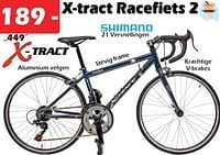 X-tract racefiets 24-X-tract