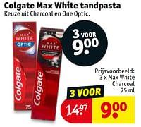 Colgate max white tandpasta max white charcoal-Colgate