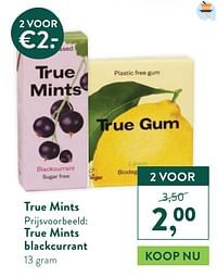 True mints true mints blackcurrant-Huismerk - Holland & Barrett