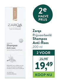 Zarqa shampoo anti-roos-Zarqa
