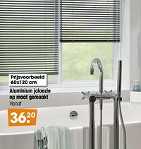 Aluminium jaloezie op maat gemaakt-Huismerk - Kwantum