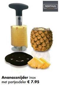 Ananassnijder inox met partjesdele-Nerthus