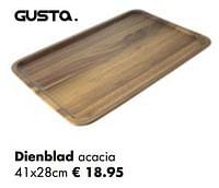 Dienblad acacia-Gusta