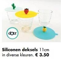 Siliconen deksels-Dotz