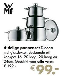 4-delige pannenset-WMF