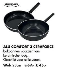 Alu comfort 3 ceraforce wok-Demeyere