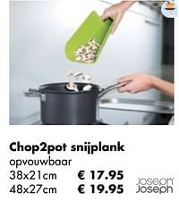 Chop2pot snijplank-Joseph Joseph