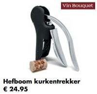 Hefboom kurkentrekker-Vin Bouquet