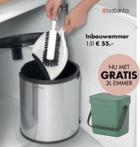 Inbouwemmer-Brabantia
