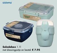 Saladebox-Sistema