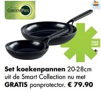 Set koekenpannen-Greenpan