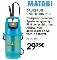 Drukspuit evolution 7-Matabi