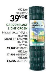 Gardenplast light groen-Giardino