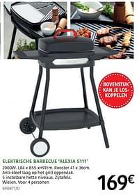 Barbecook elektrische barbecue alexia 5111-Barbecook