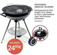 Houtskool barbecue atlanta-Huismerk - HandyHome
