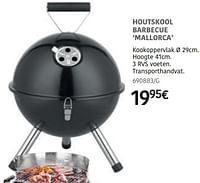 Houtskool barbecue mallorca-Huismerk - HandyHome