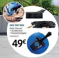 Pad top box-Nilfisk