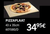 Pizzaplaat-Barbecook
