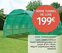 Luxe tunnelserre-Huismerk - HandyHome