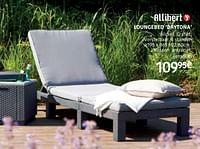 Loungebed daytona-Allibert